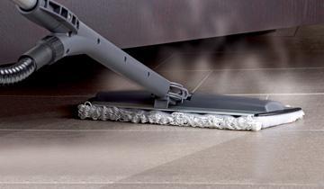 Steam Mop Vaporetto Lecoaspira - Reinigung von engen Stellen