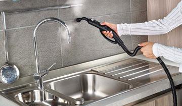 Dampfreinigungs-set für Cimex Eradicator - Reinigung der Küche