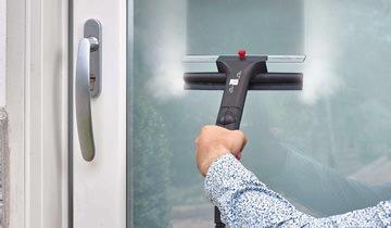 Dampfreinigungs-set für Cimex Eradicator - Reinigung von Spiegeln und Glas