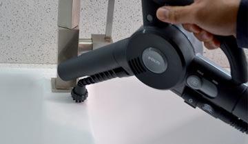 Reinigungsset Unico Dampf und Bürste