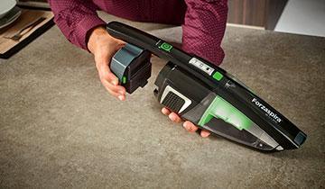 Elektrischer Standstaubsauger Forzaspira SR25.9 Plus - Lange Laufzeit und hohe Flexibilität