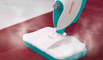 Dampfbesen Vaporetto SV205 - Ideal für Teppiche