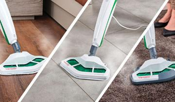 Dampfbesen Vaporetto SV400 Hygiene - Für alle Böden