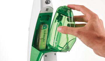 Dampfbesen Vaporetto SV400 Hygiene - Herausnehmbarer Wasserbehälter