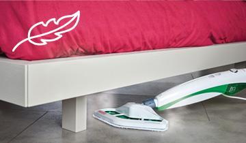 Dampfbesen Vaporetto SV400 Hygiene - leicht, kompakt und handlich