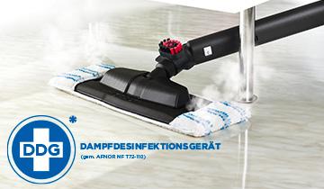 Polti Vaporetto Pro 85 Flexi: pulitore a vapore disinfettante con spazzola Vaporflexi