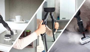 Vaporetto Smart 40_Mop Reinigung von Oberflächen