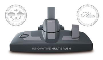 Unico MCV80_Total Clean & Turbo Für sämtliche Fußböden